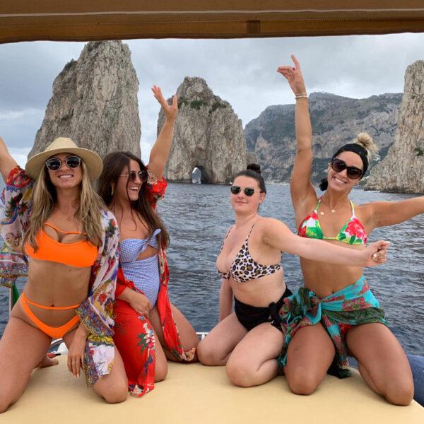 Gita da Amalfi a Capri visitando la costa e le grotte!